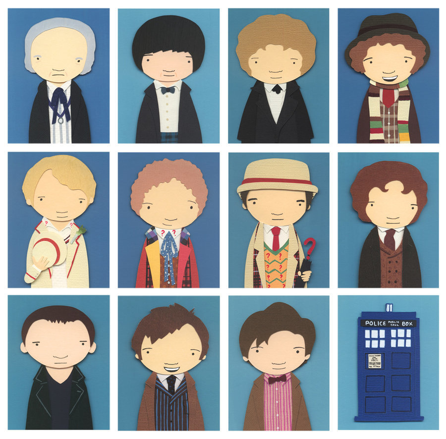 tardis Doctor Who panels HD Wallpaper