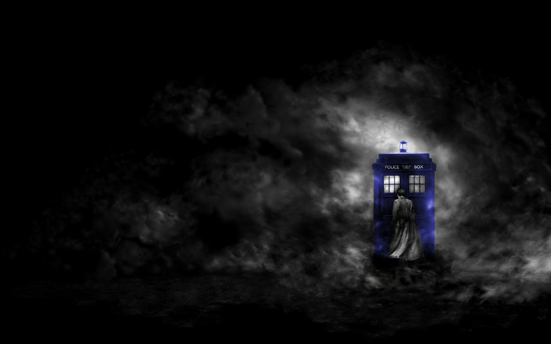 tardis doctor Who? tenth HD Wallpaper