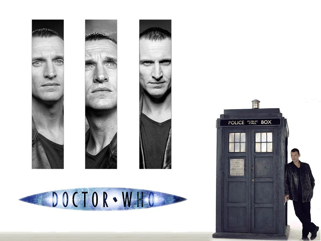 tardis grayscale Doctor Who HD Wallpaper