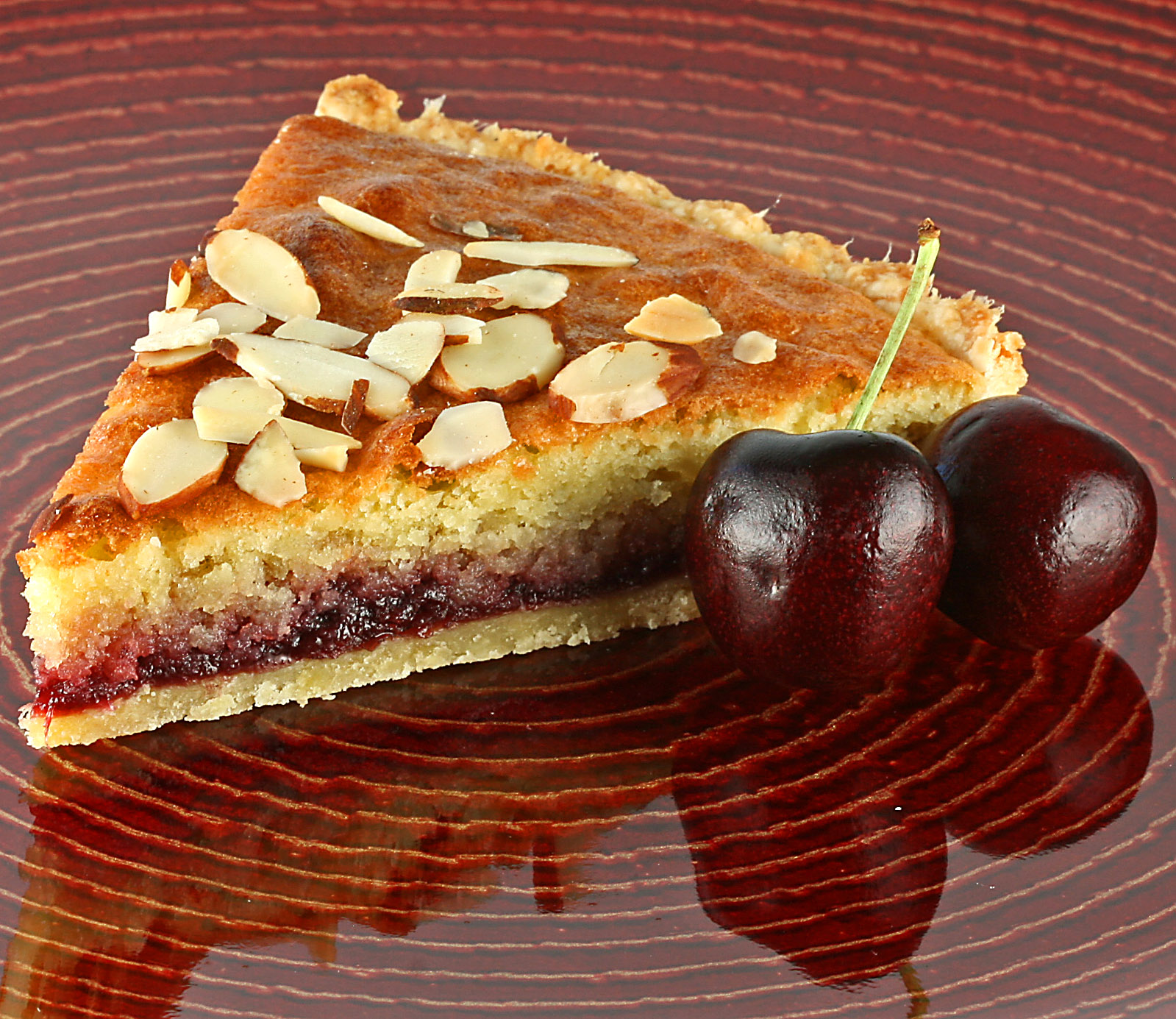 tarts pastries jam almond HD Wallpaper