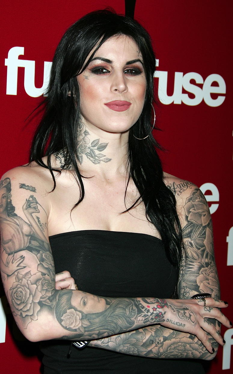tattoos kat von d kate vond