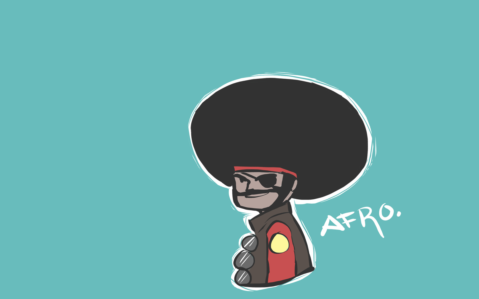 team fortress 2 afro HD Wallpaper
