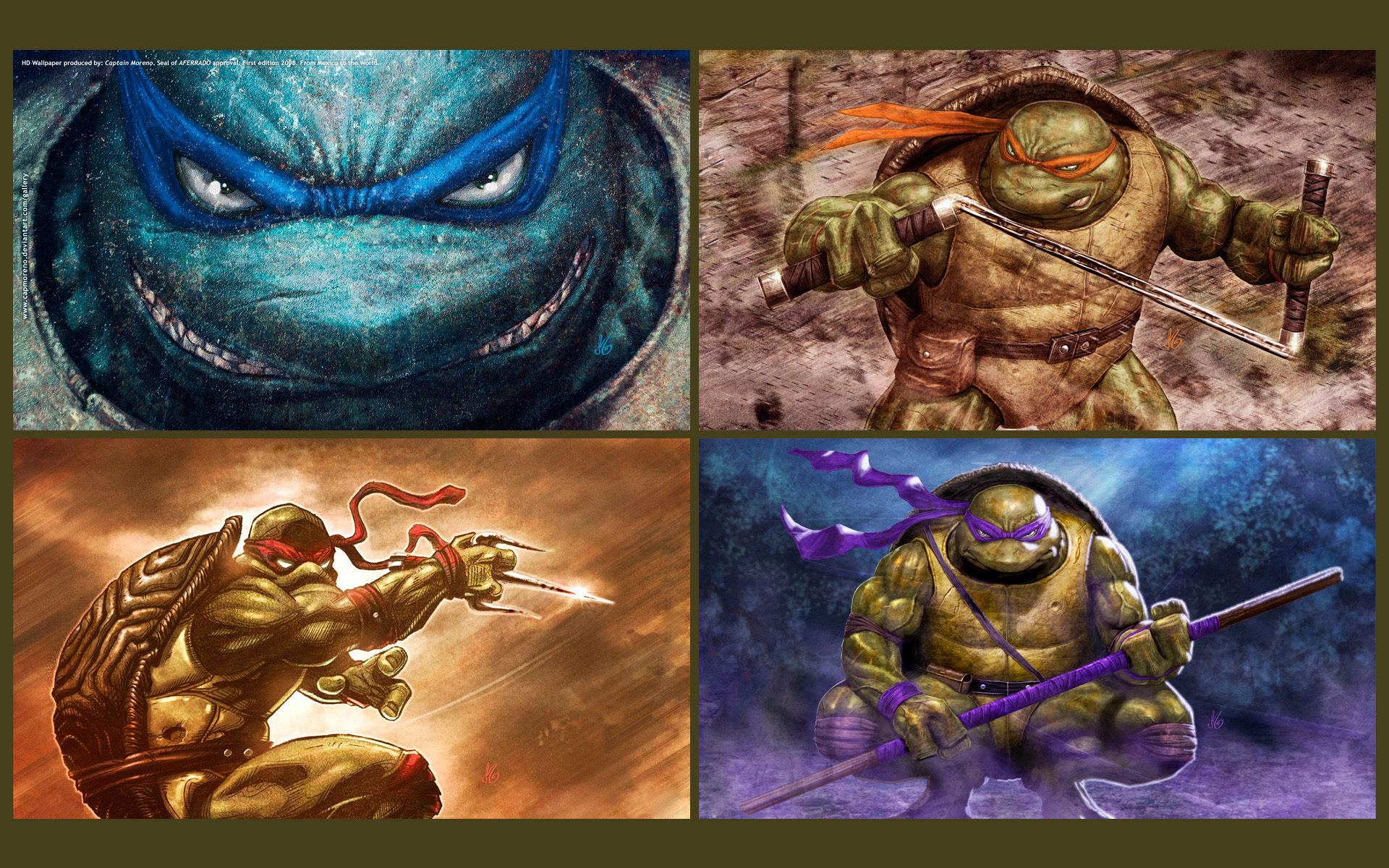 teenage mutant ninja turtles HD Wallpaper