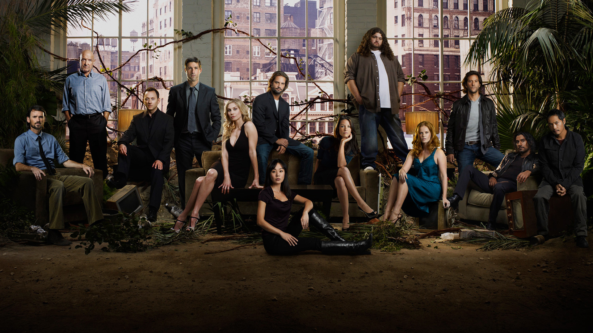 television cast lost HD Wallpaper