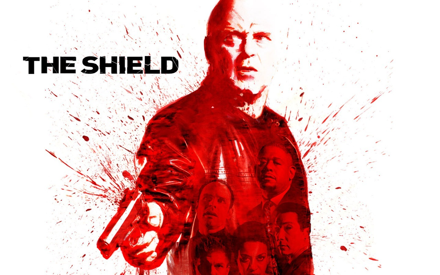 television The shield HD Wallpaper