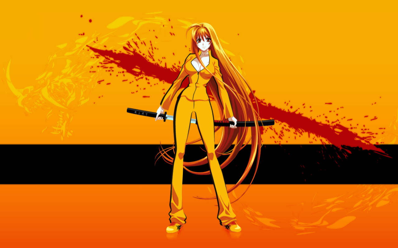 tenjou tenge Kill Bill HD Wallpaper