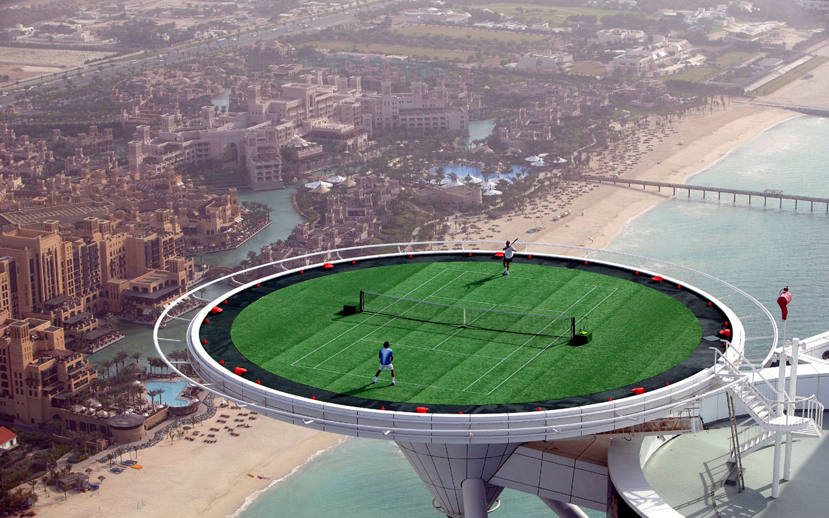 tennis dubai Burj Al HD Wallpaper