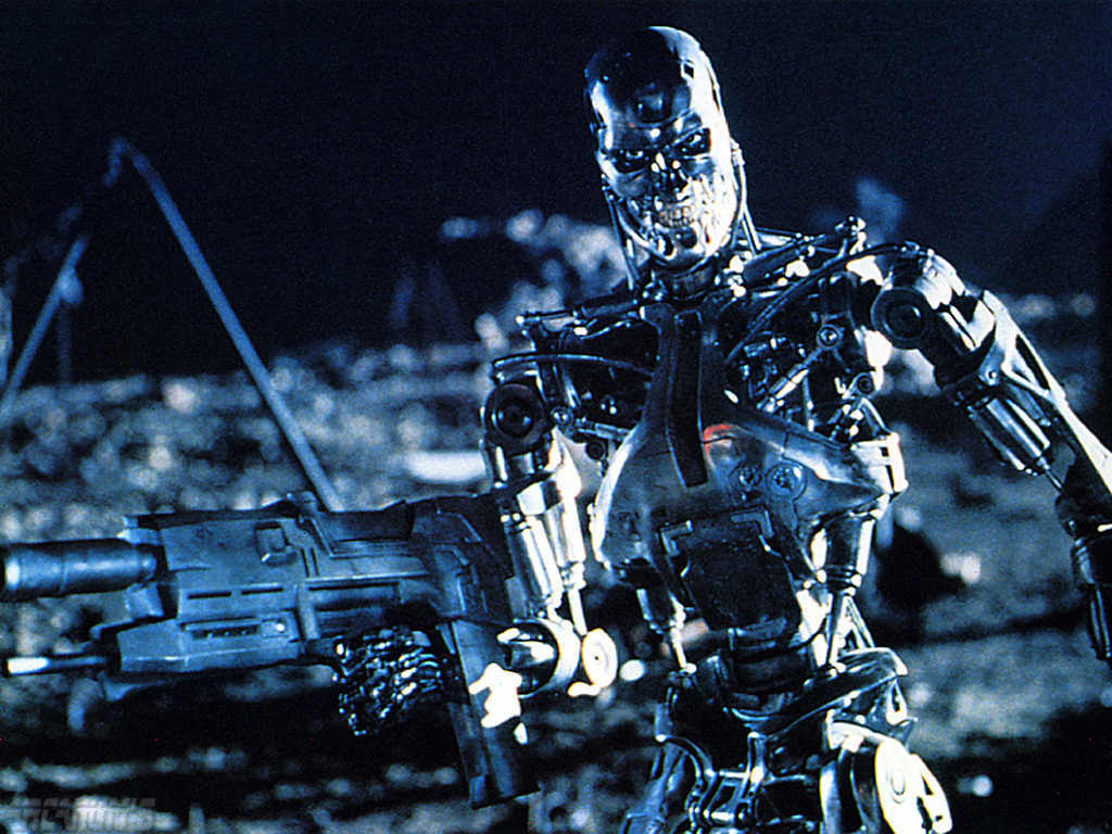 terminator robot Movie HD Wallpaper