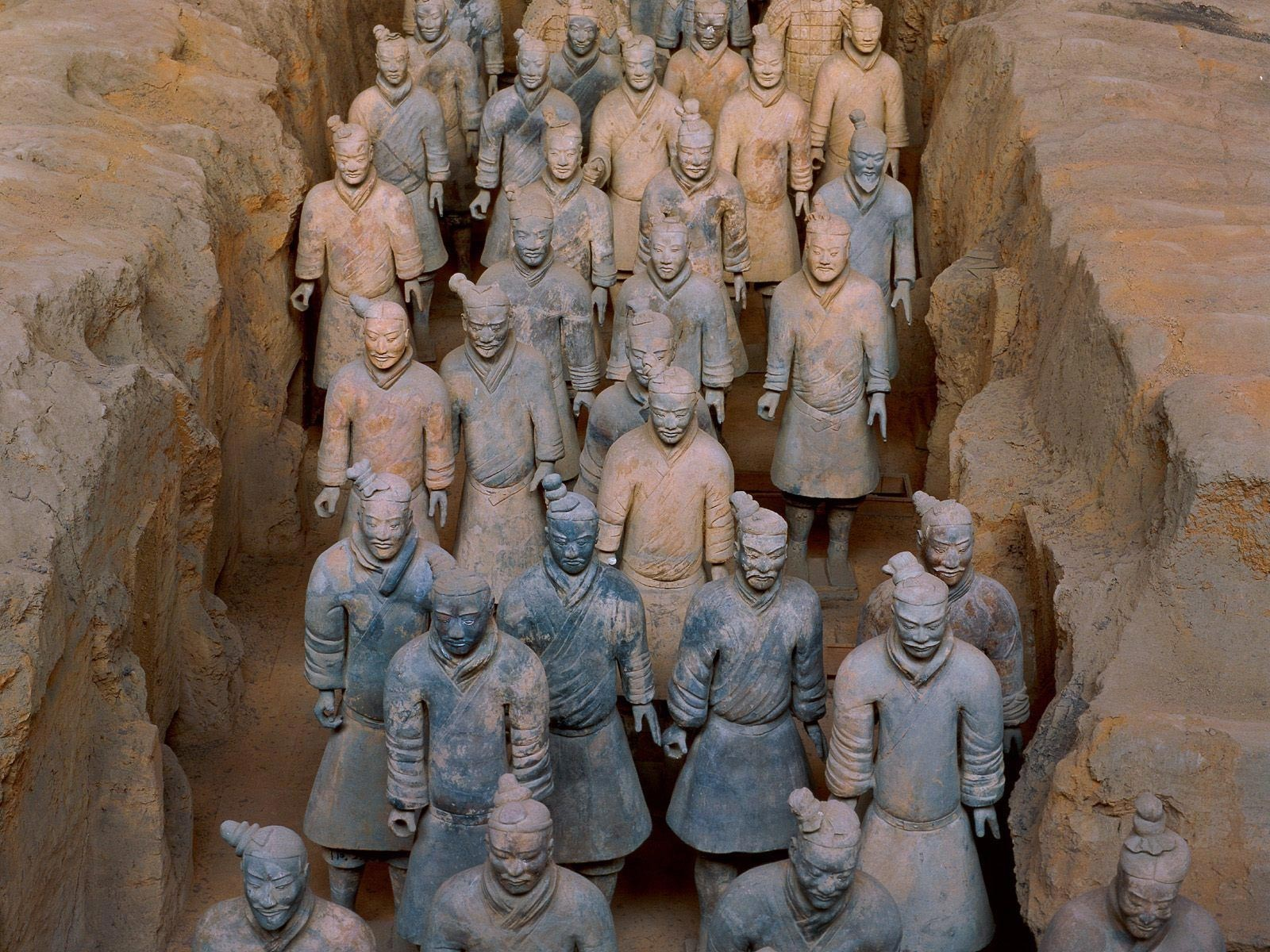 Terracotta Army China statues
