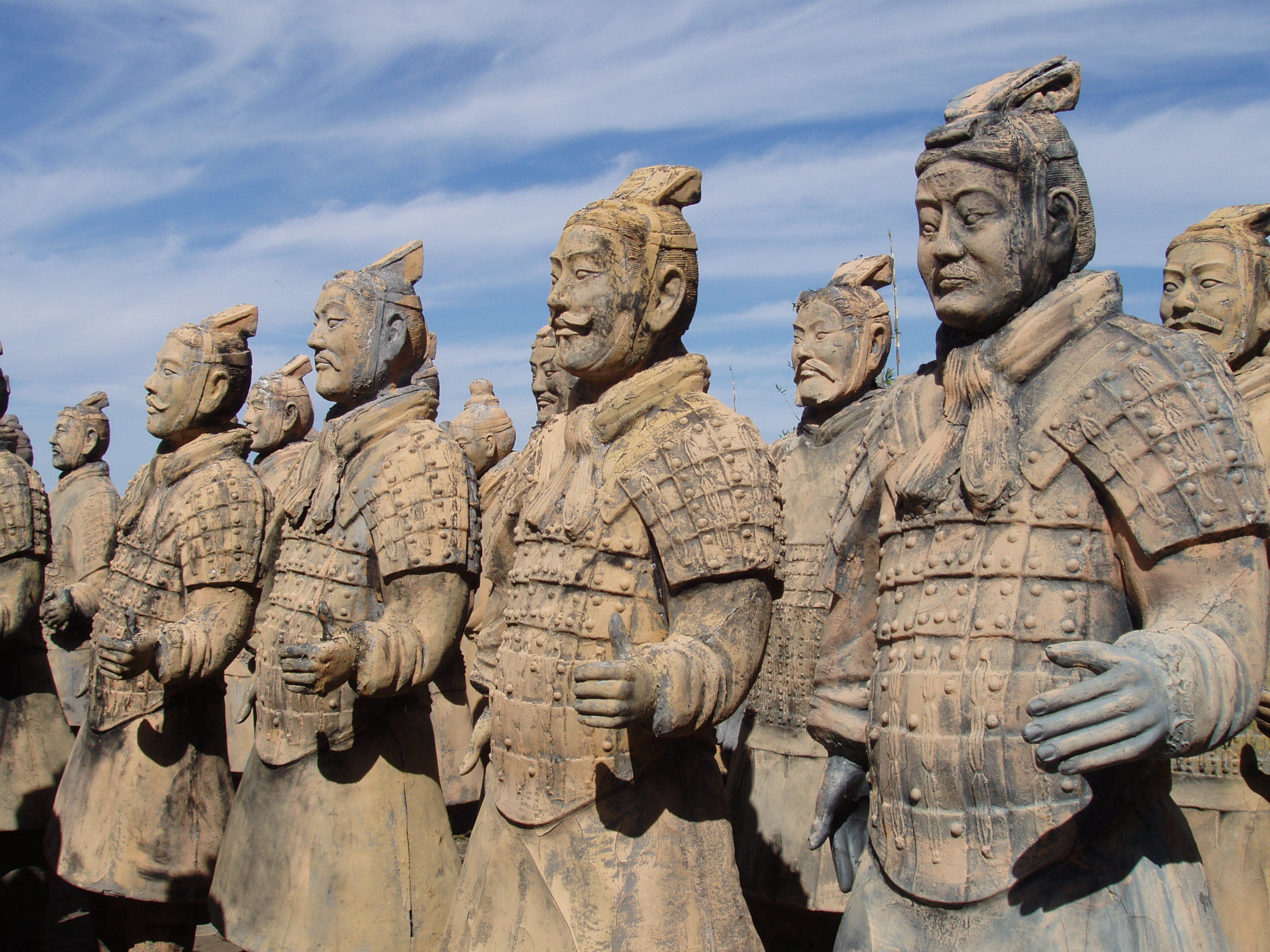 terracotta Army military