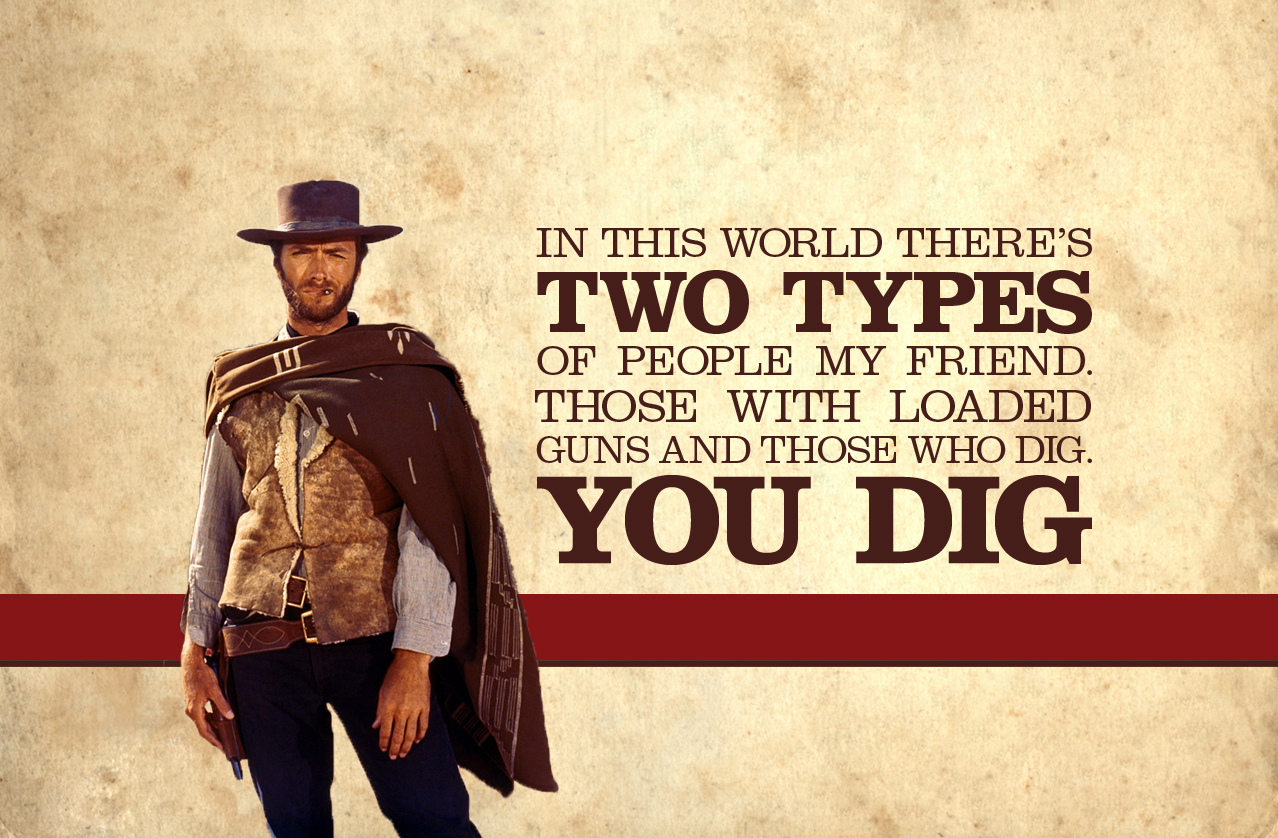 text clint eastwood