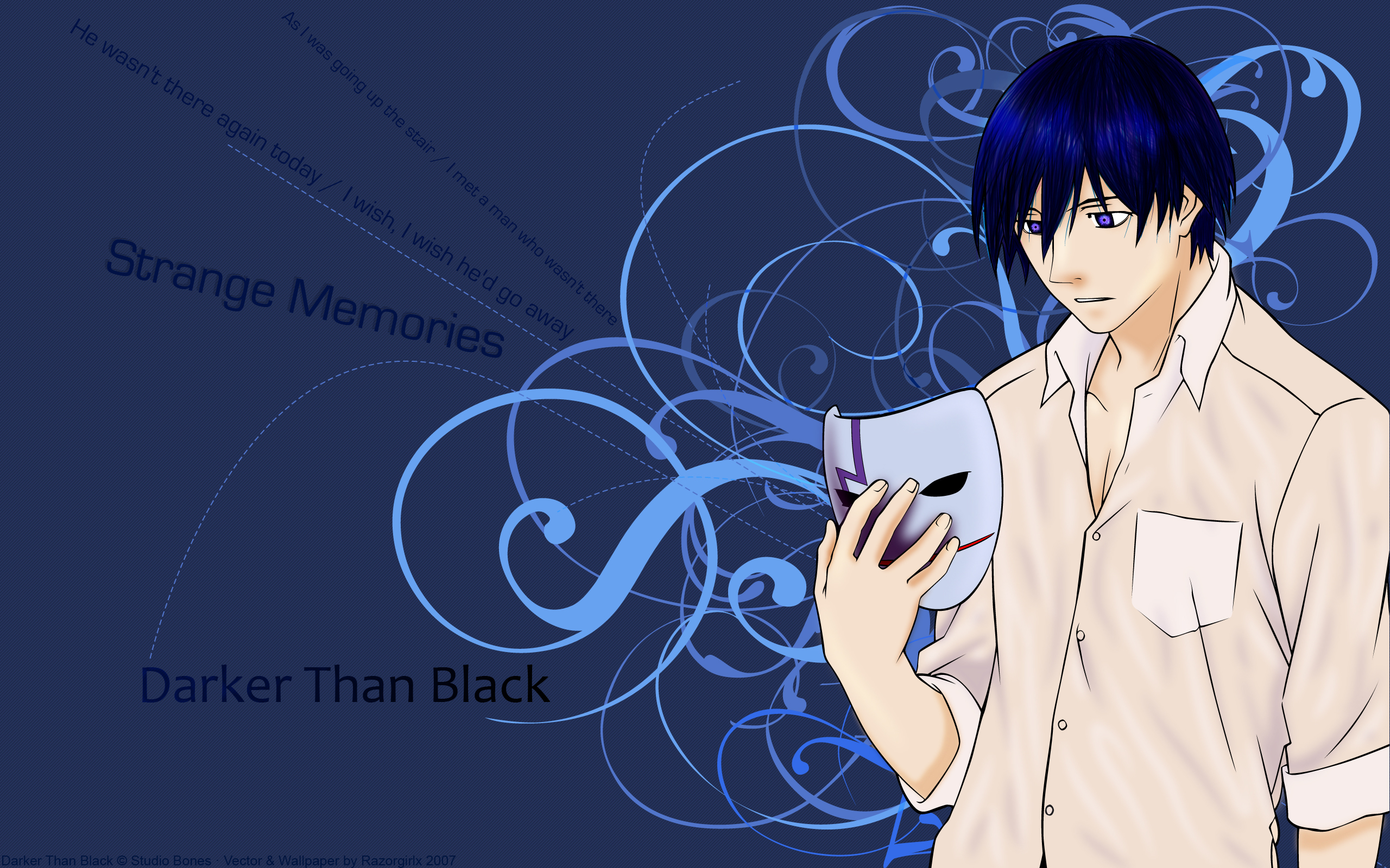 text darker than black HD Wallpaper