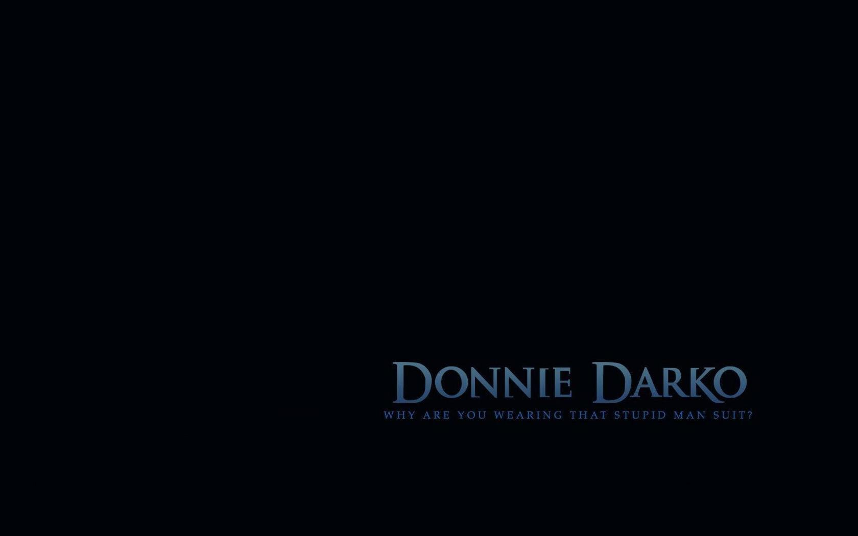 text donnie darko HD Wallpaper