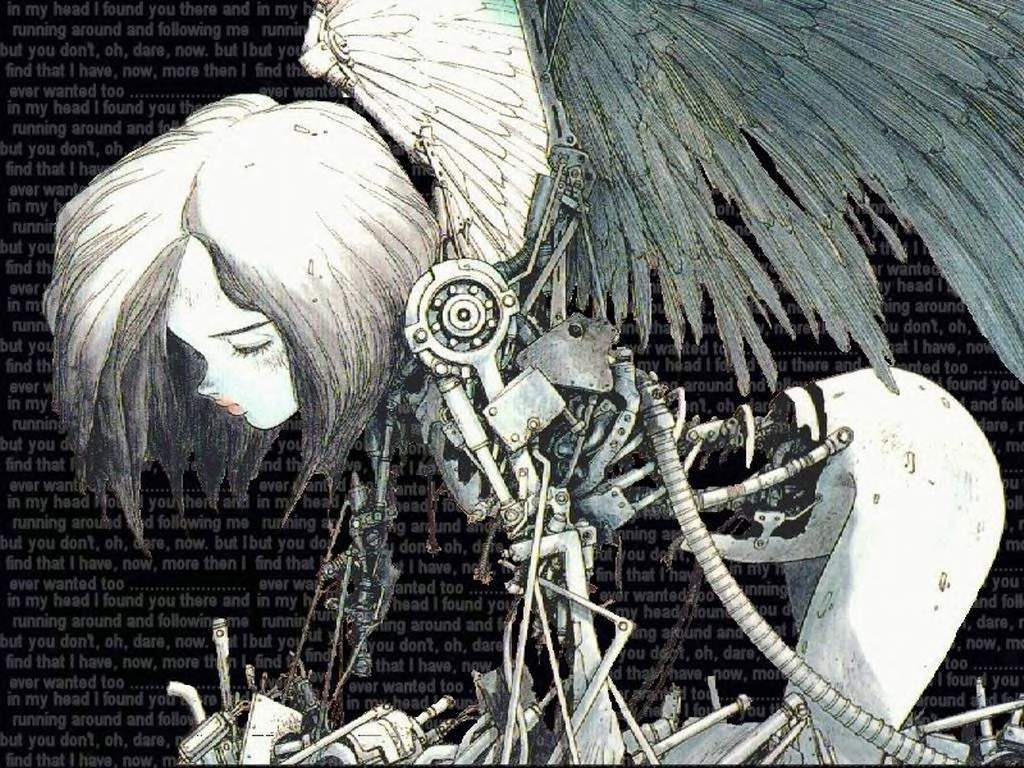 text Gunnm Battle Angel HD Wallpaper