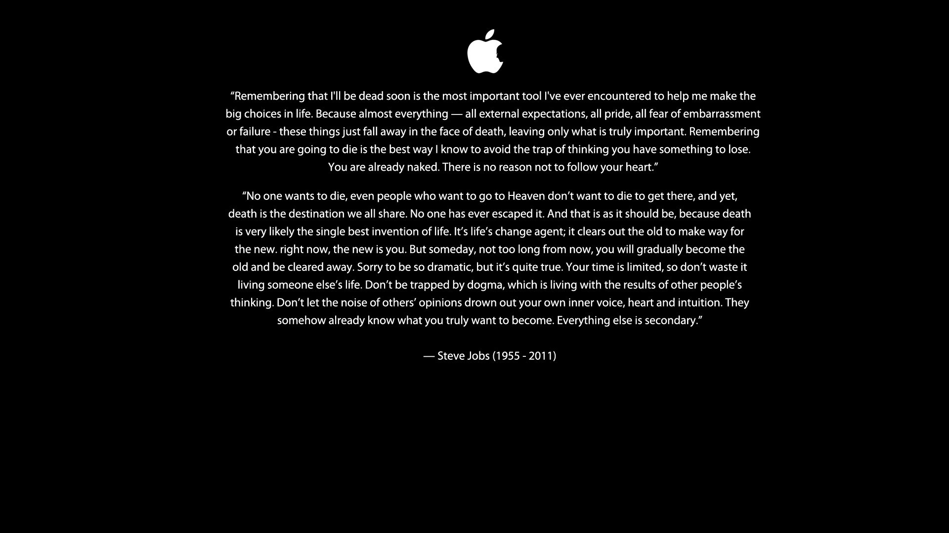 text Quotes Steve Jobs HD Wallpaper