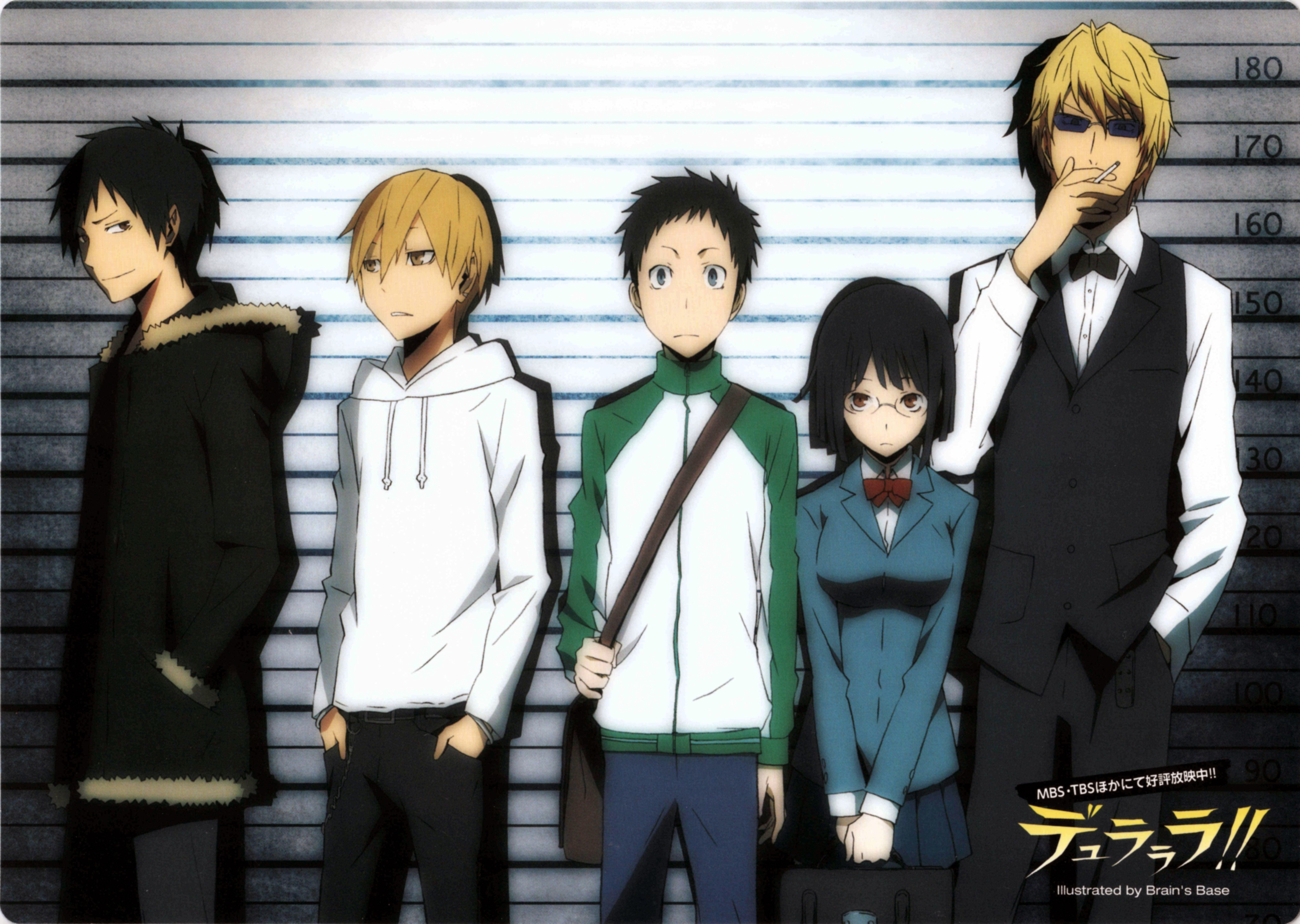 text red eyes durarara HD Wallpaper