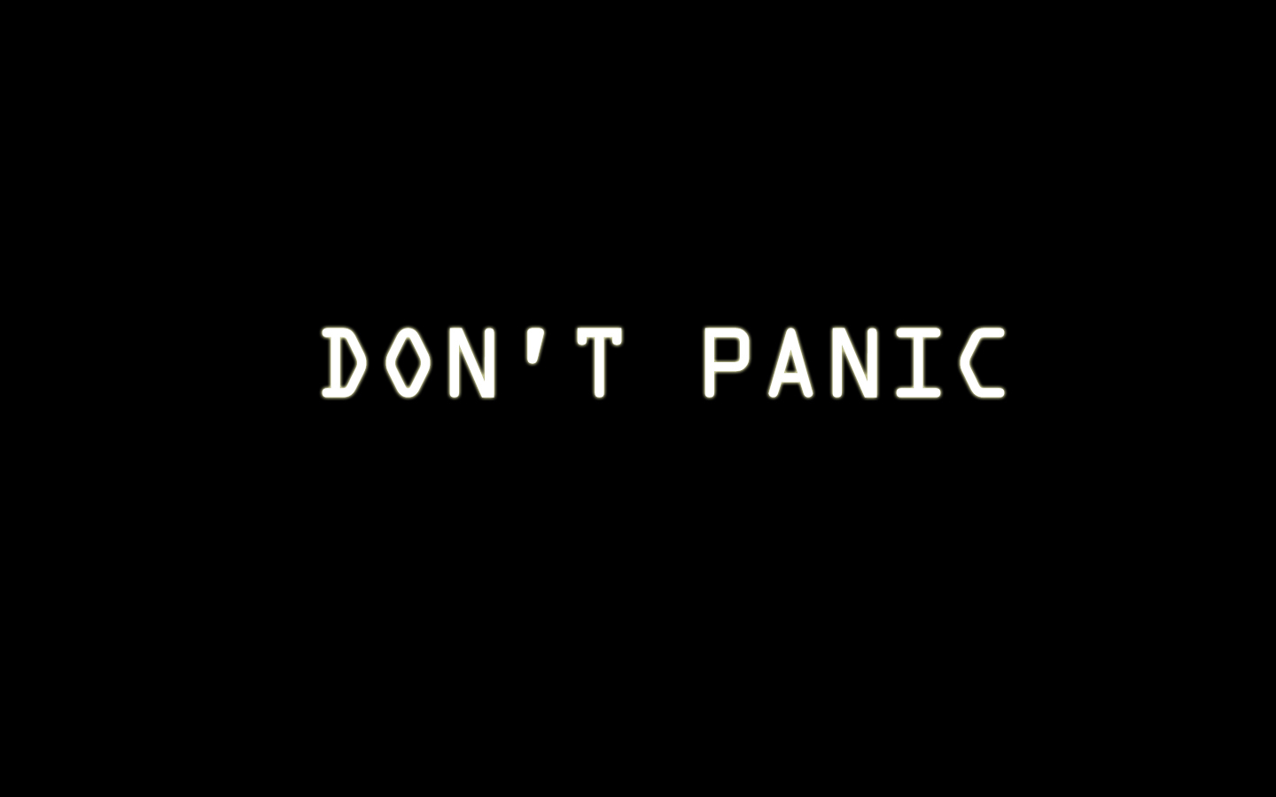 text The Hitchhikers Guide HD Wallpaper