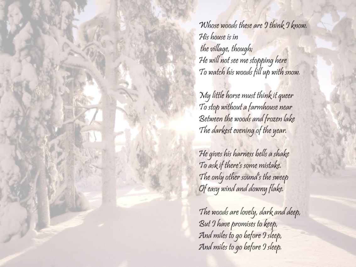 texts poetry Robert frost HD Wallpaper