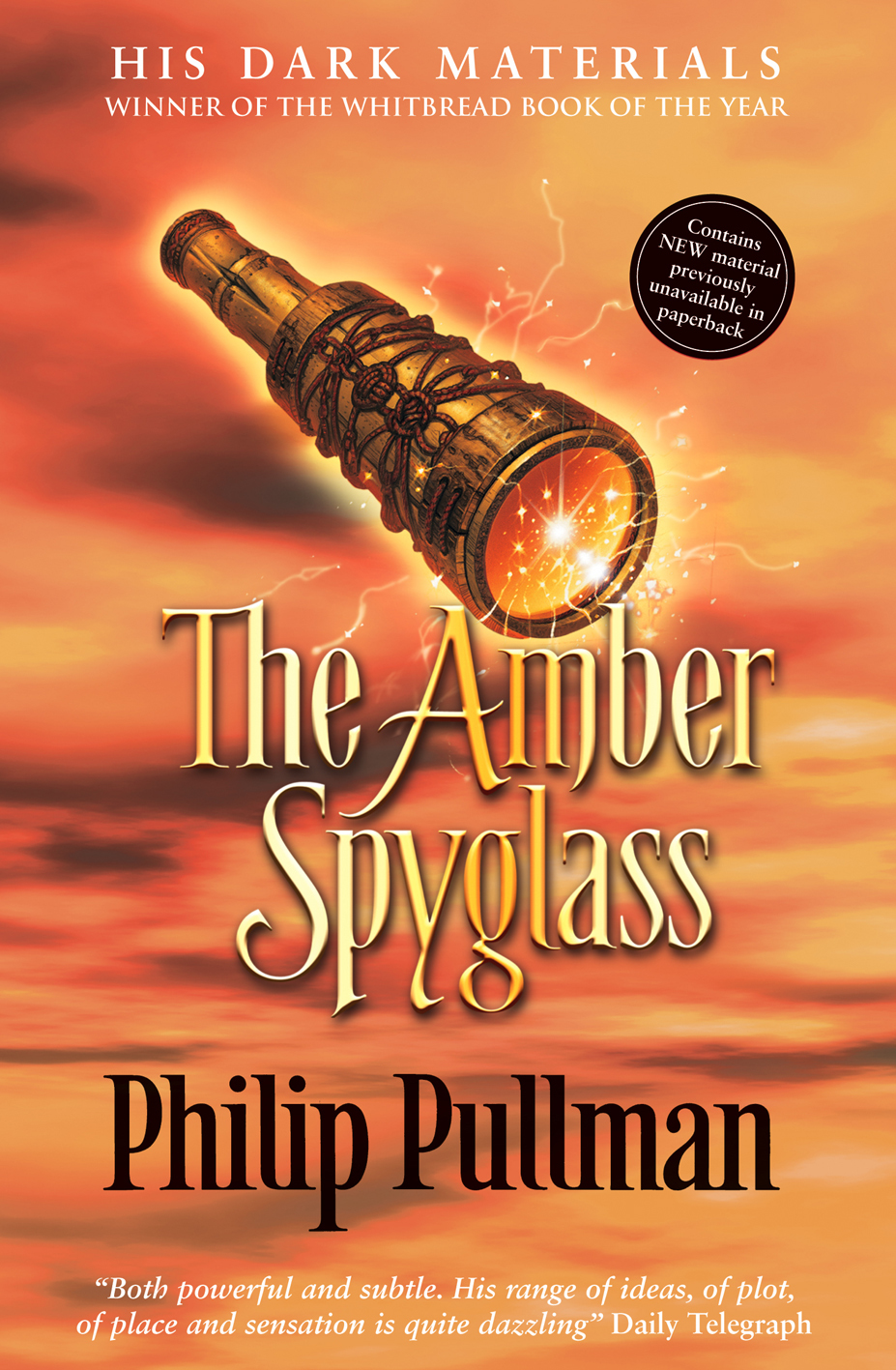 The amber spyglass HD Wallpaper