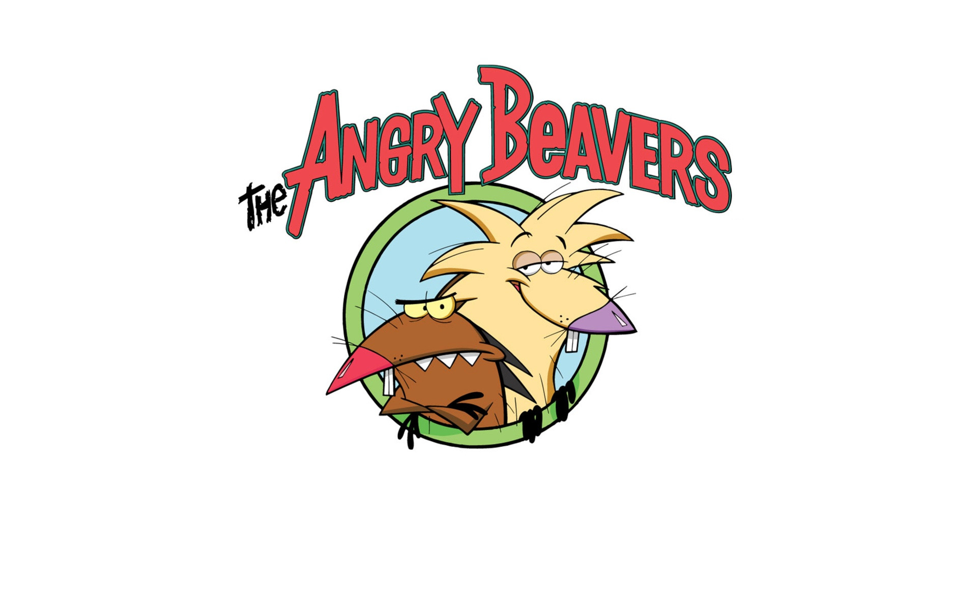 The angry Beavers HD Wallpaper