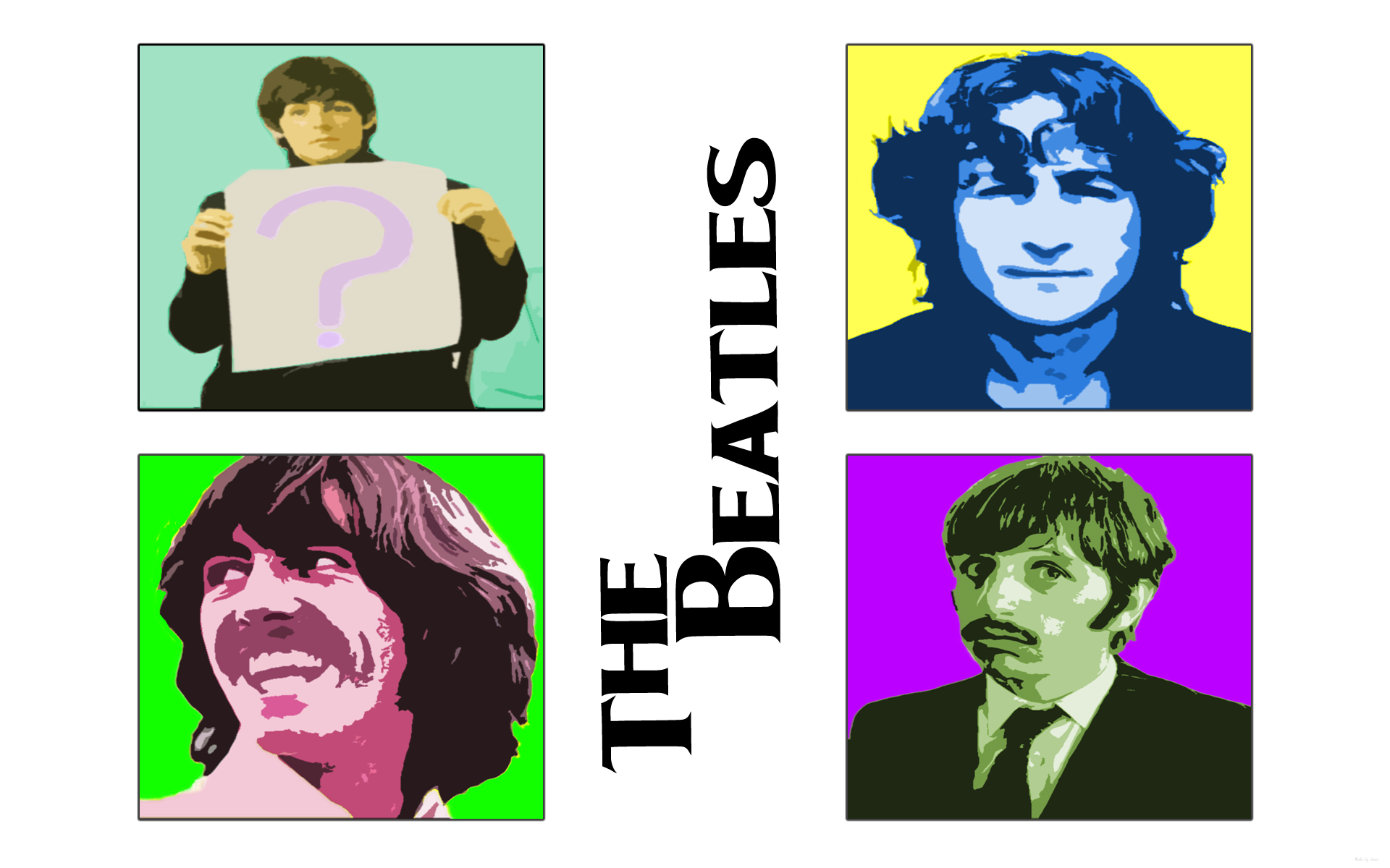 The Beatles Music and HD Wallpaper