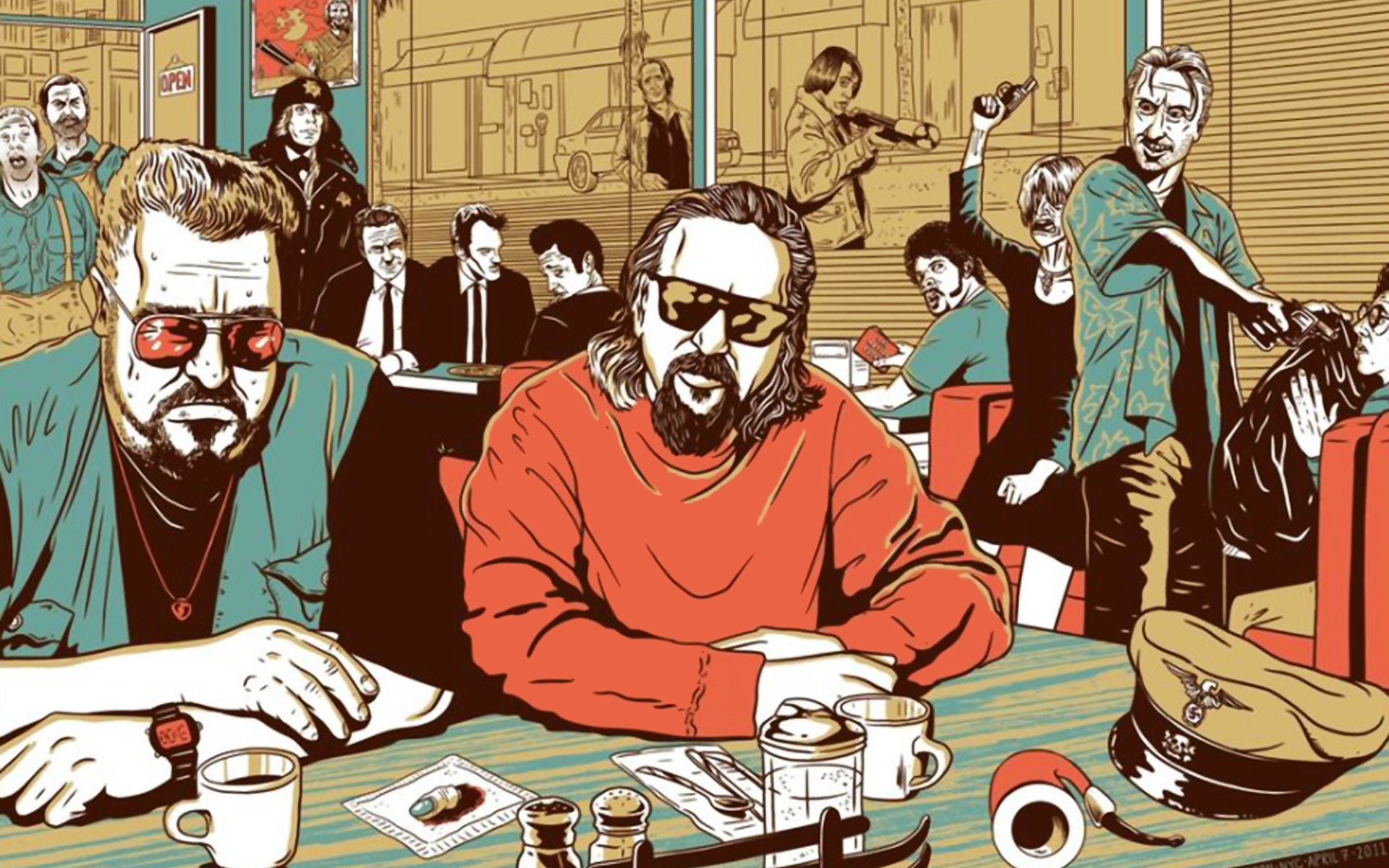 The Big Lebowski No HD Wallpaper