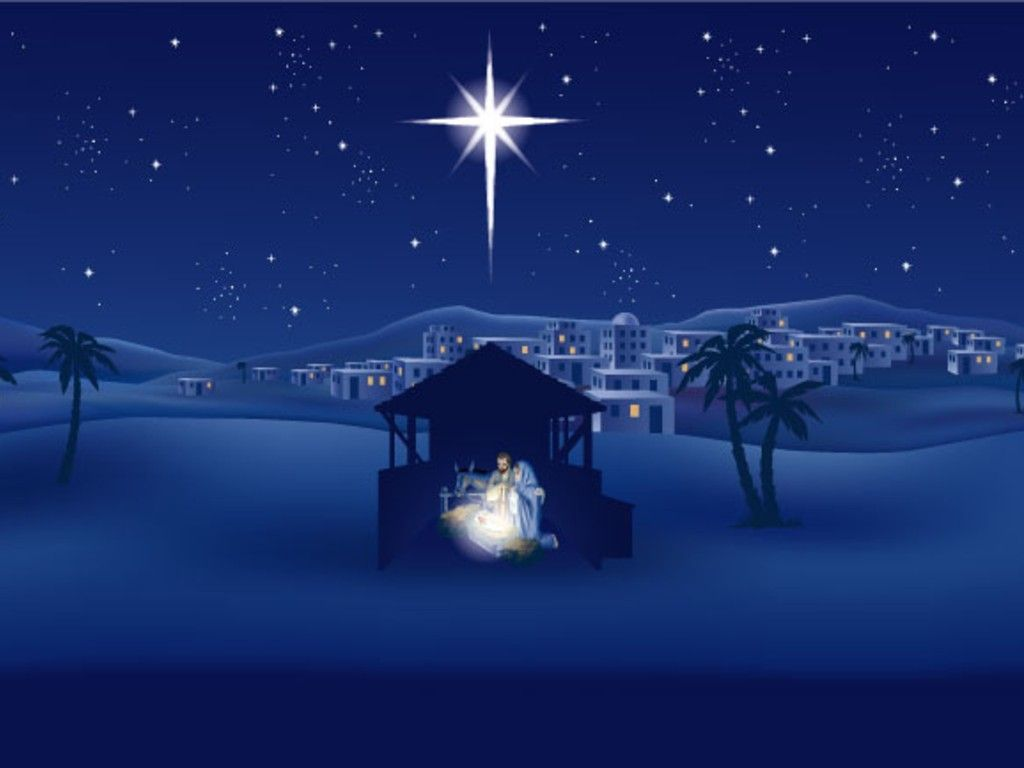 The Birth of Christ HD Wallpaper