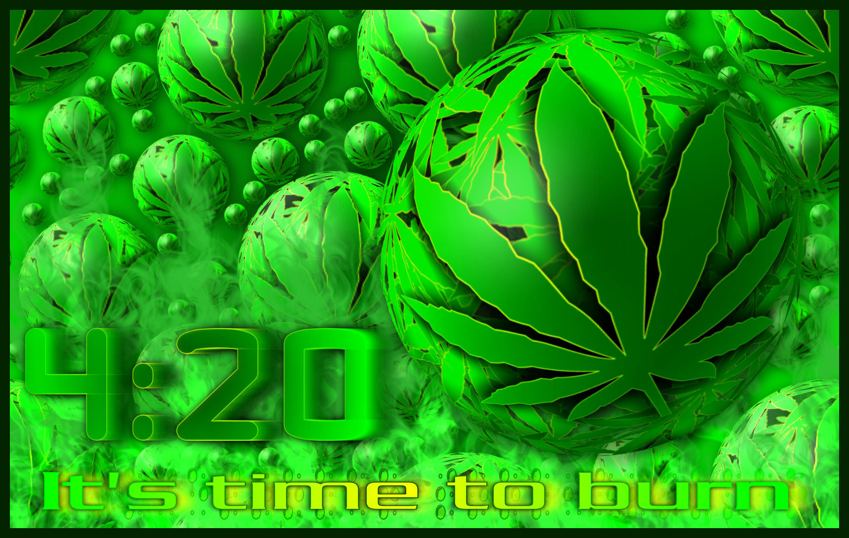 The Cannabis bubble by HD Wallpaper