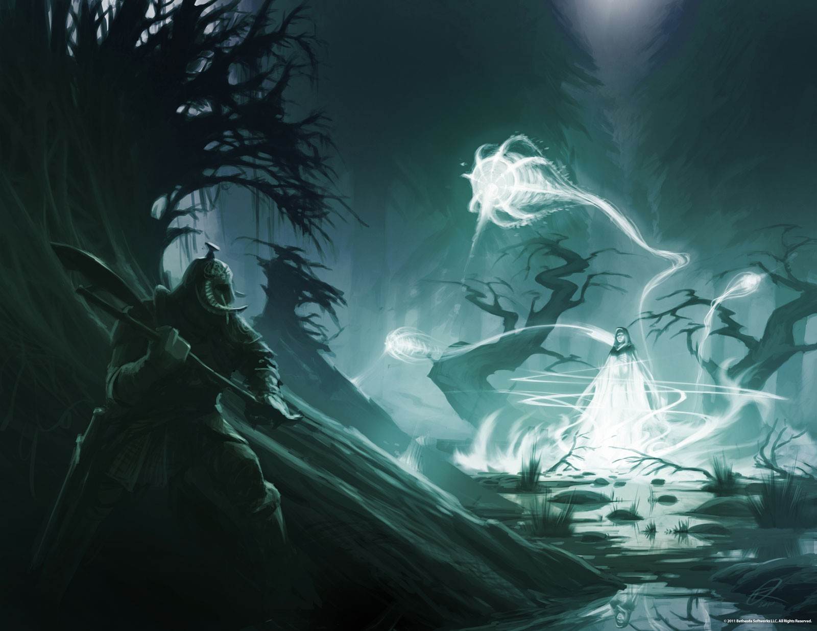 the elder scrolls v skyrim artwork fantasy art
