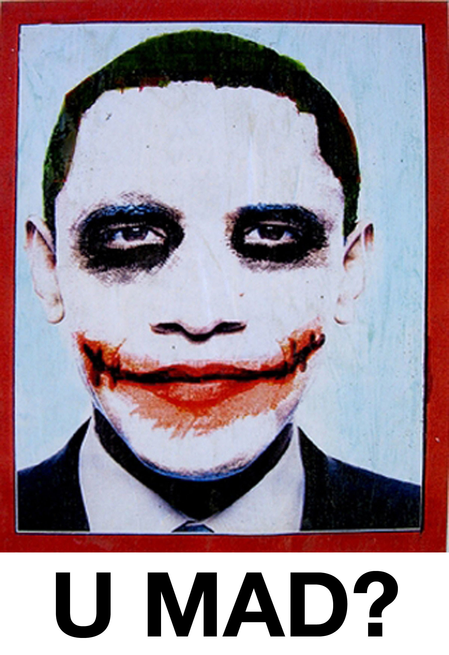 The joker barack obama HD Wallpaper