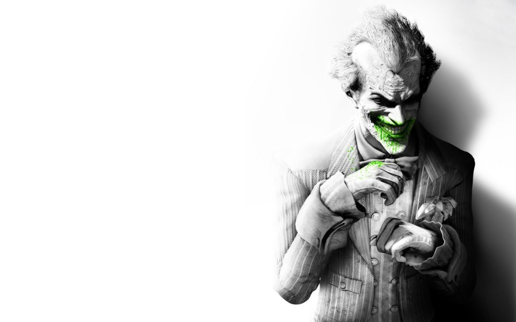the joker batman arkham HD Wallpaper