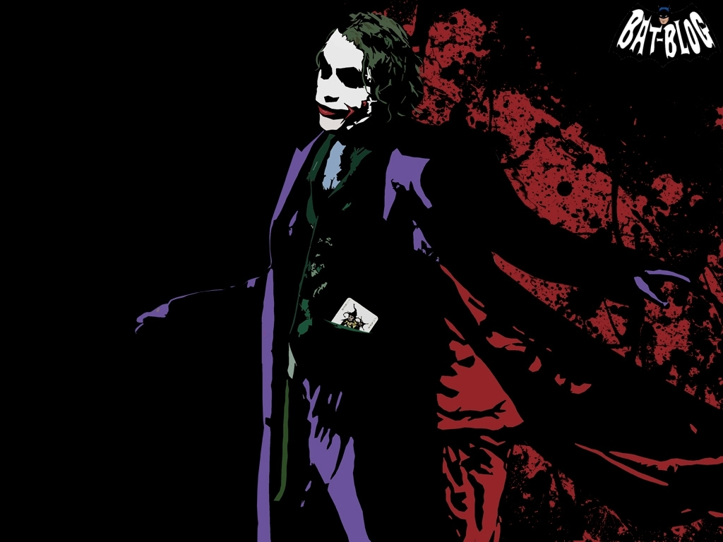 The joker Batman dark HD Wallpaper