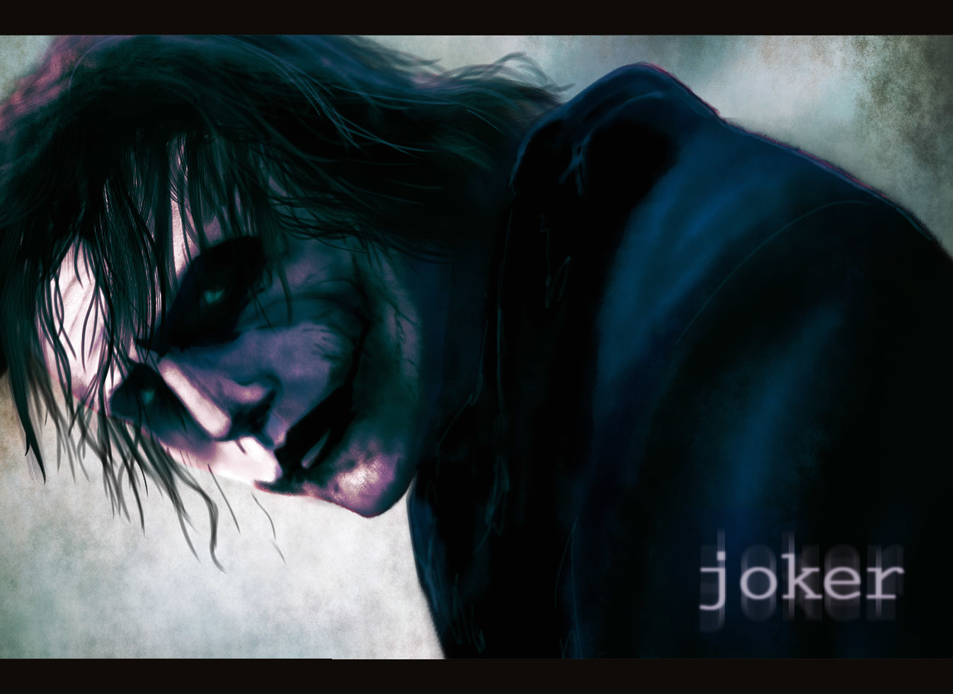 The joker heath Ledger HD Wallpaper