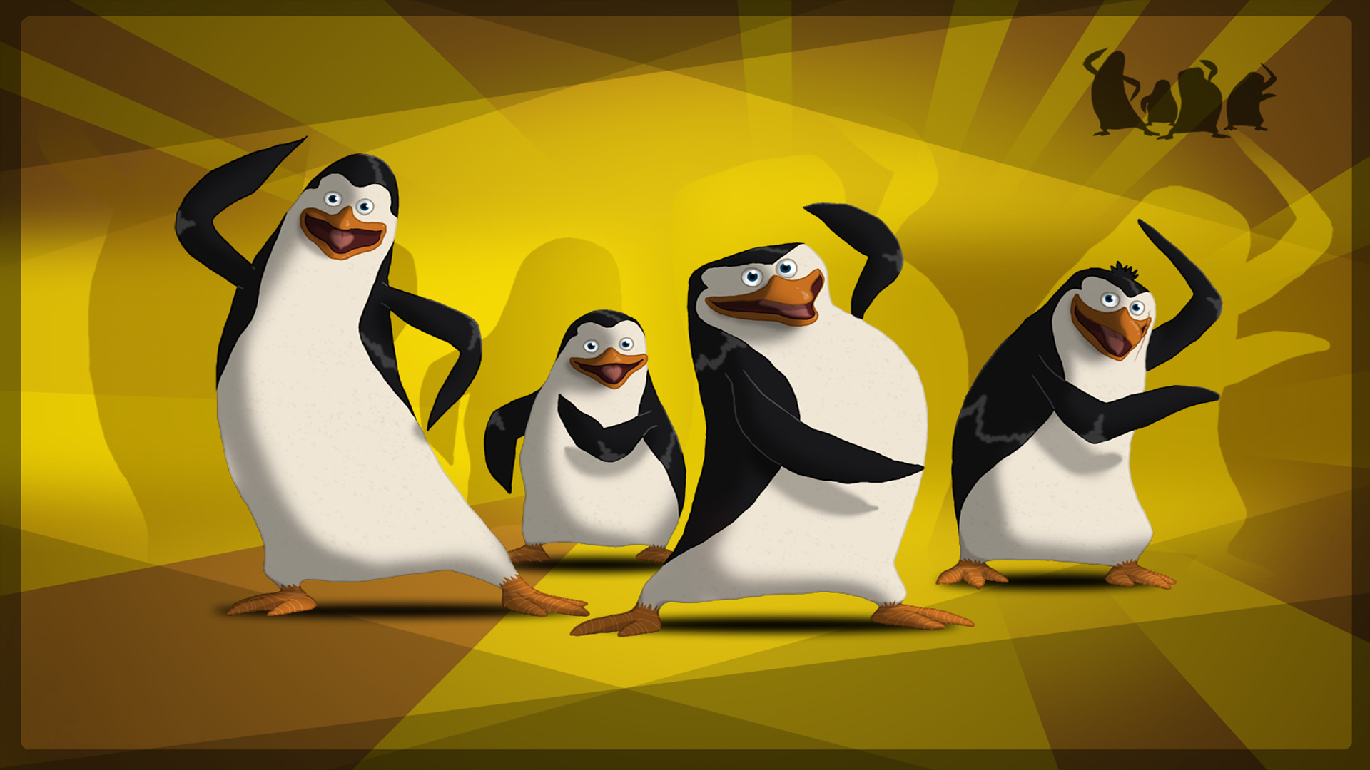 The Penguins of Madagascar HD Wallpaper