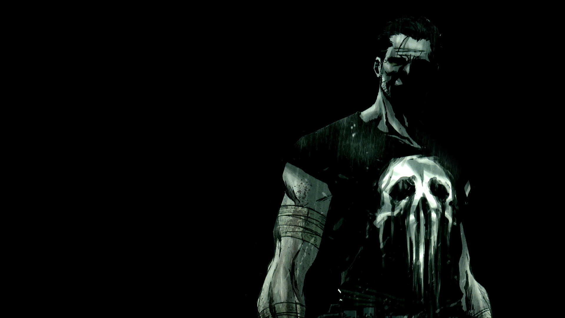 The Punisher comics HD Wallpaper