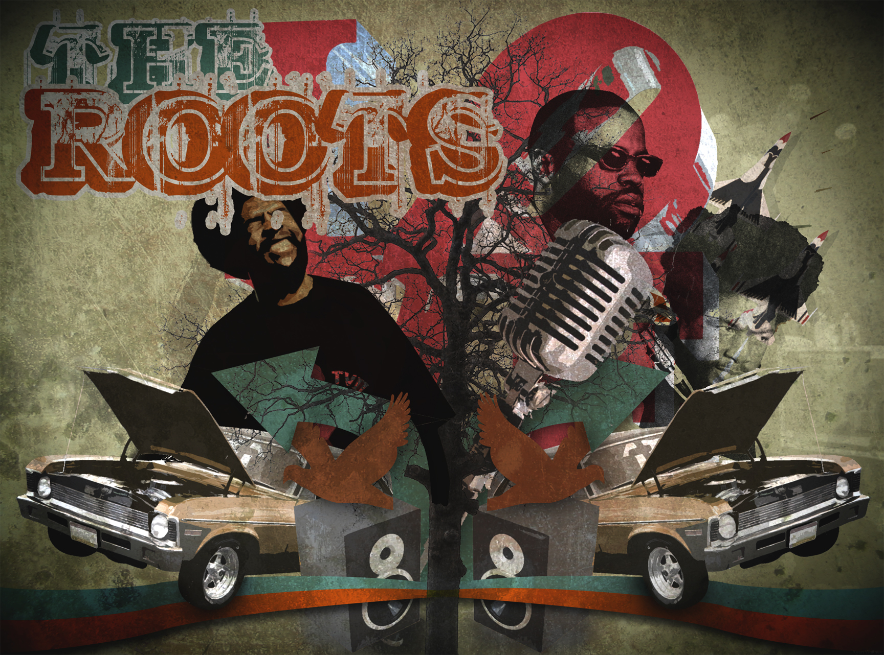 The roots by whits HD Wallpaper