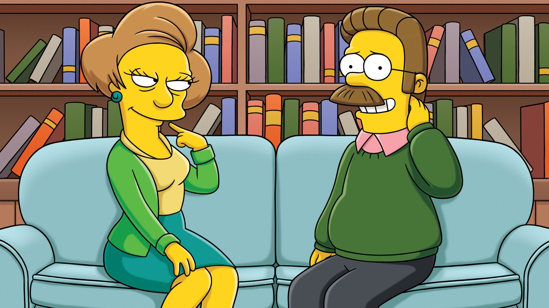 The Simpsons ned flanders HD Wallpaper