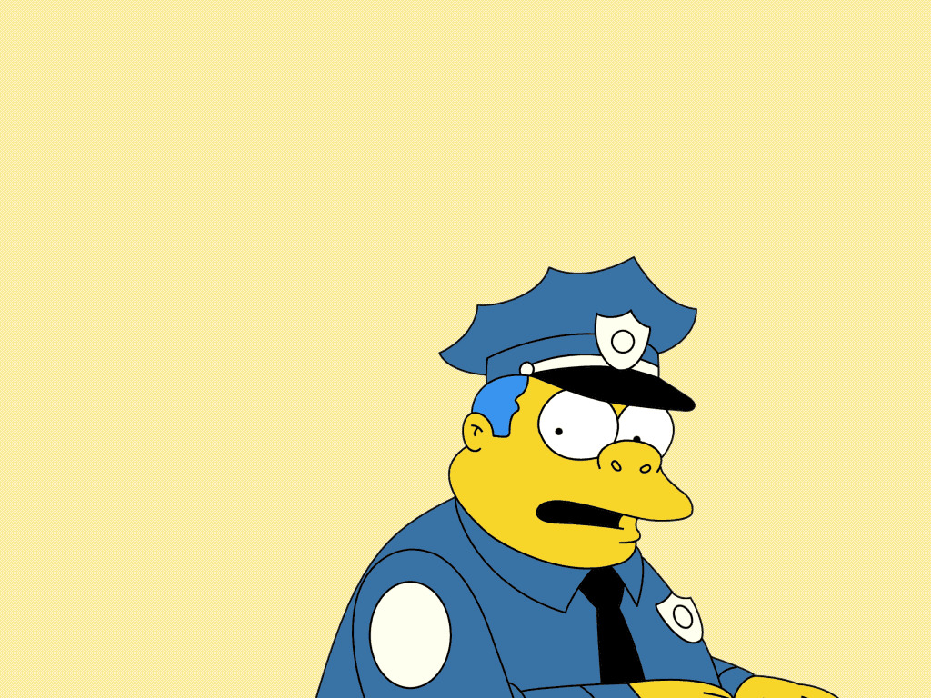 The simpsons officer TV HD Wallpaper