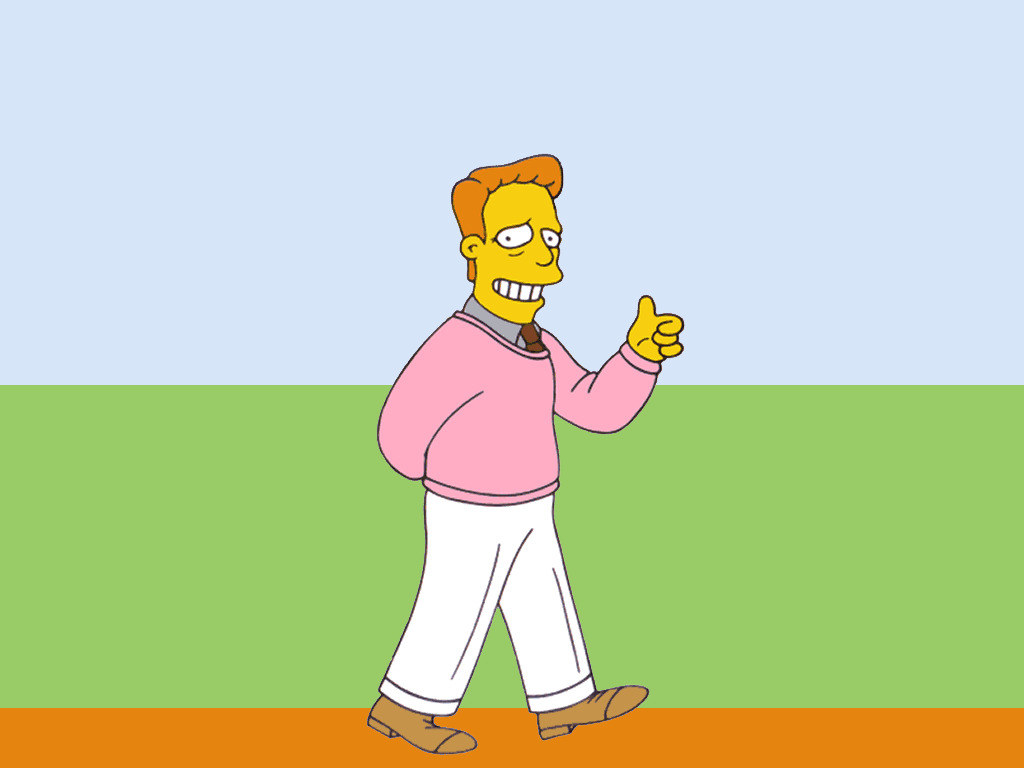 The simpsons Troy mcclure HD Wallpaper