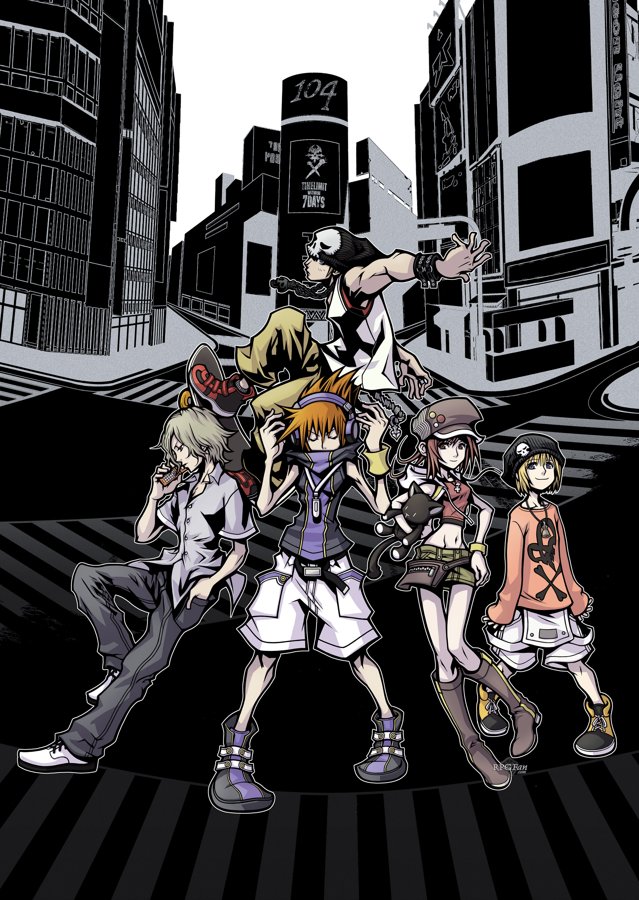 The World Ends With HD Wallpaper