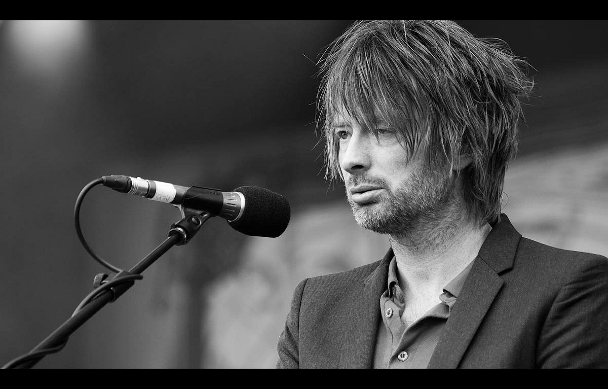 thom yorke from Latitude HD Wallpaper