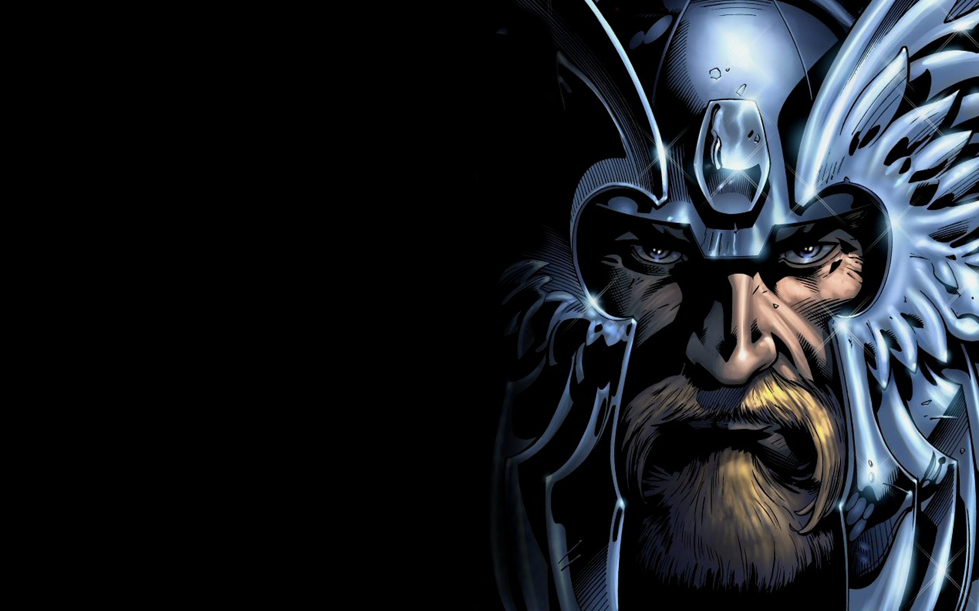thor Avengers comics odin HD Wallpaper