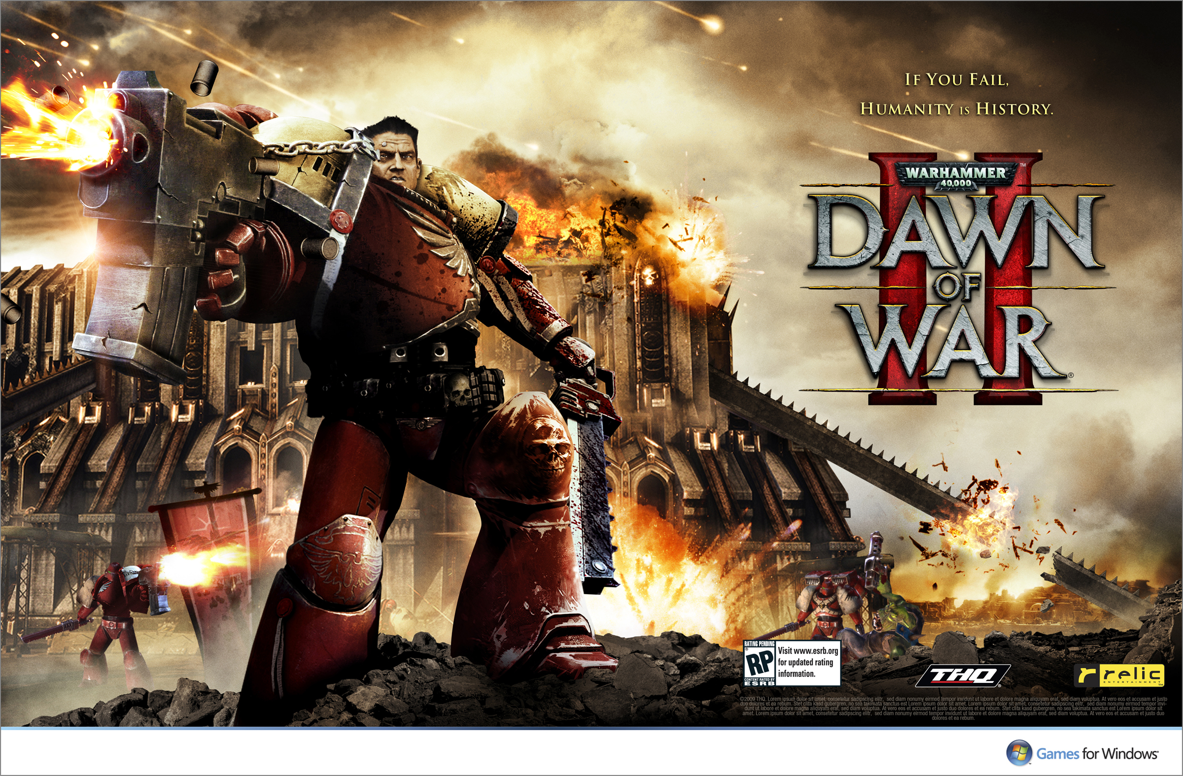 thq dowii sprd v6 HD Wallpaper