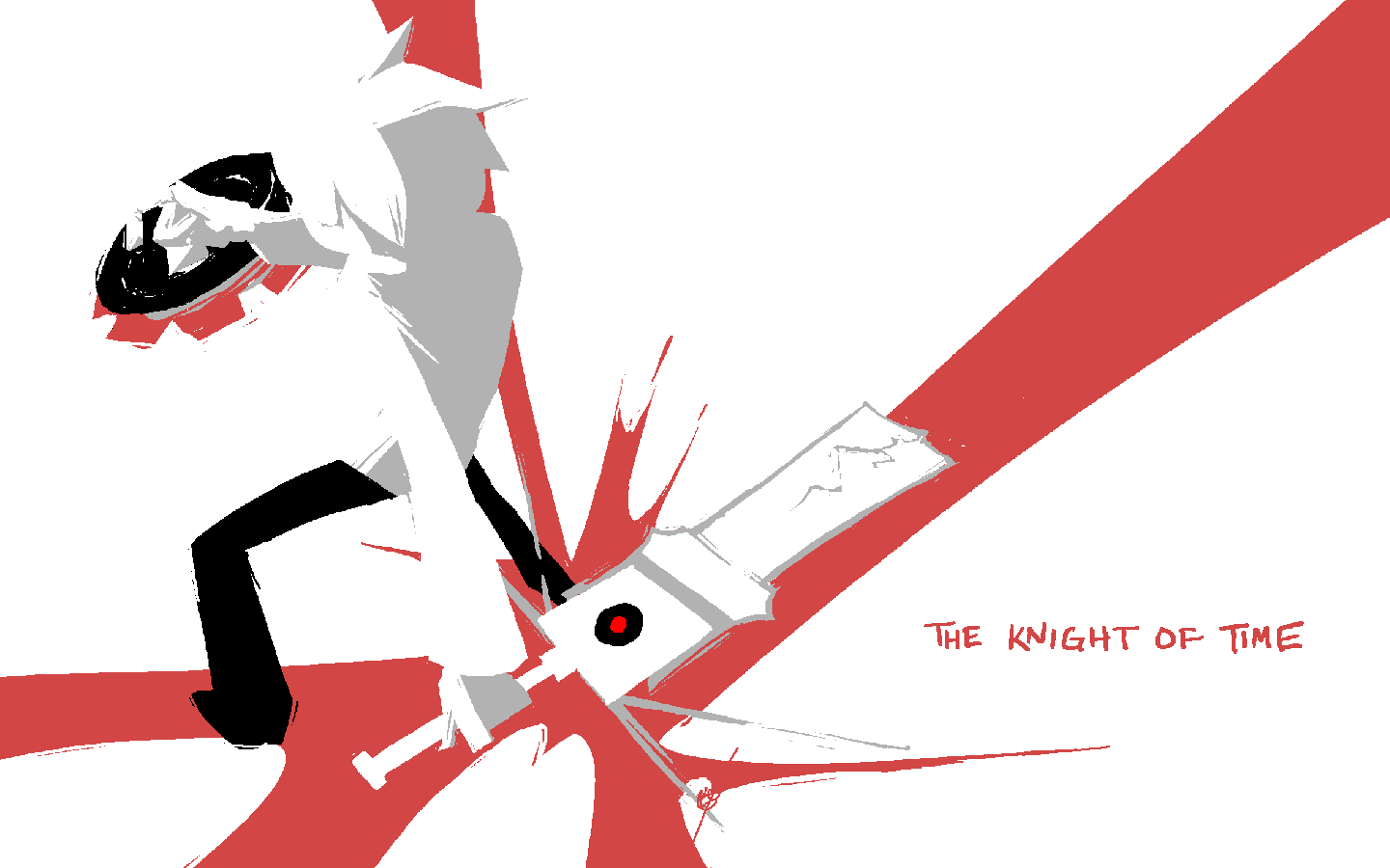 time City knight paint HD Wallpaper