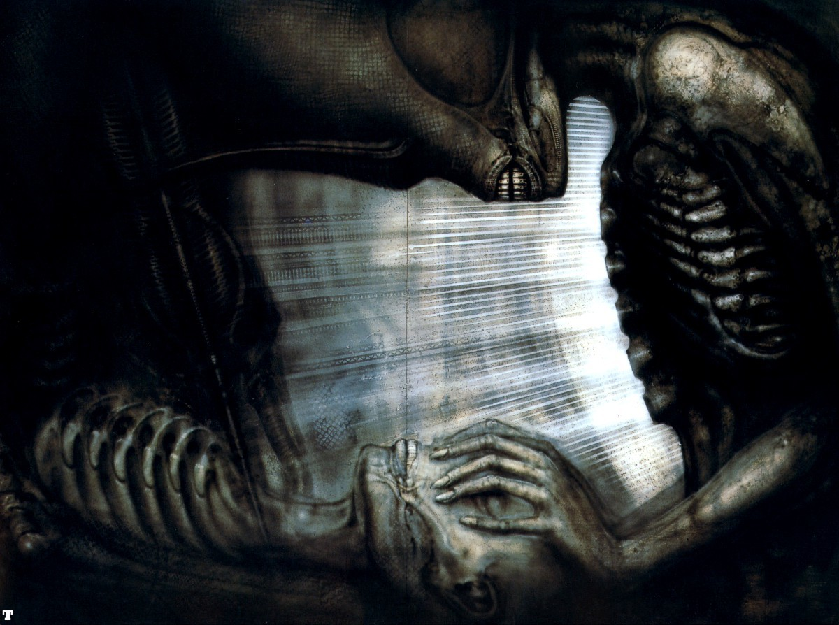 tool esque giger Aliens HD Wallpaper