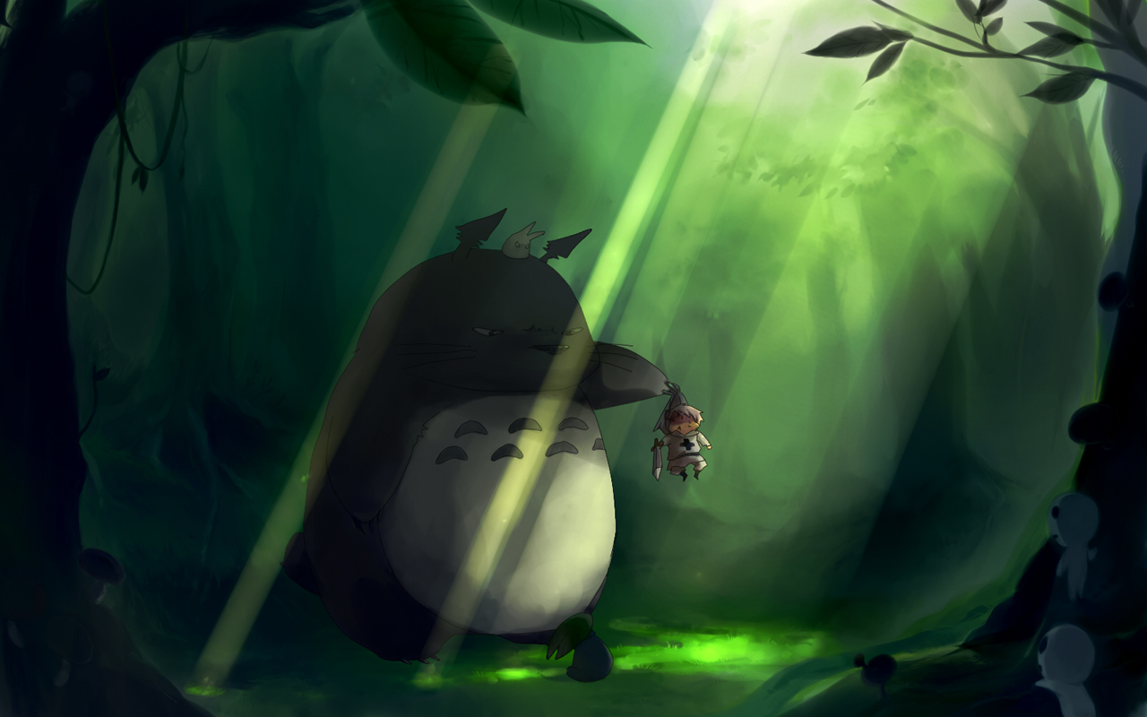 totoro My Neighbour Totoro HD Wallpaper