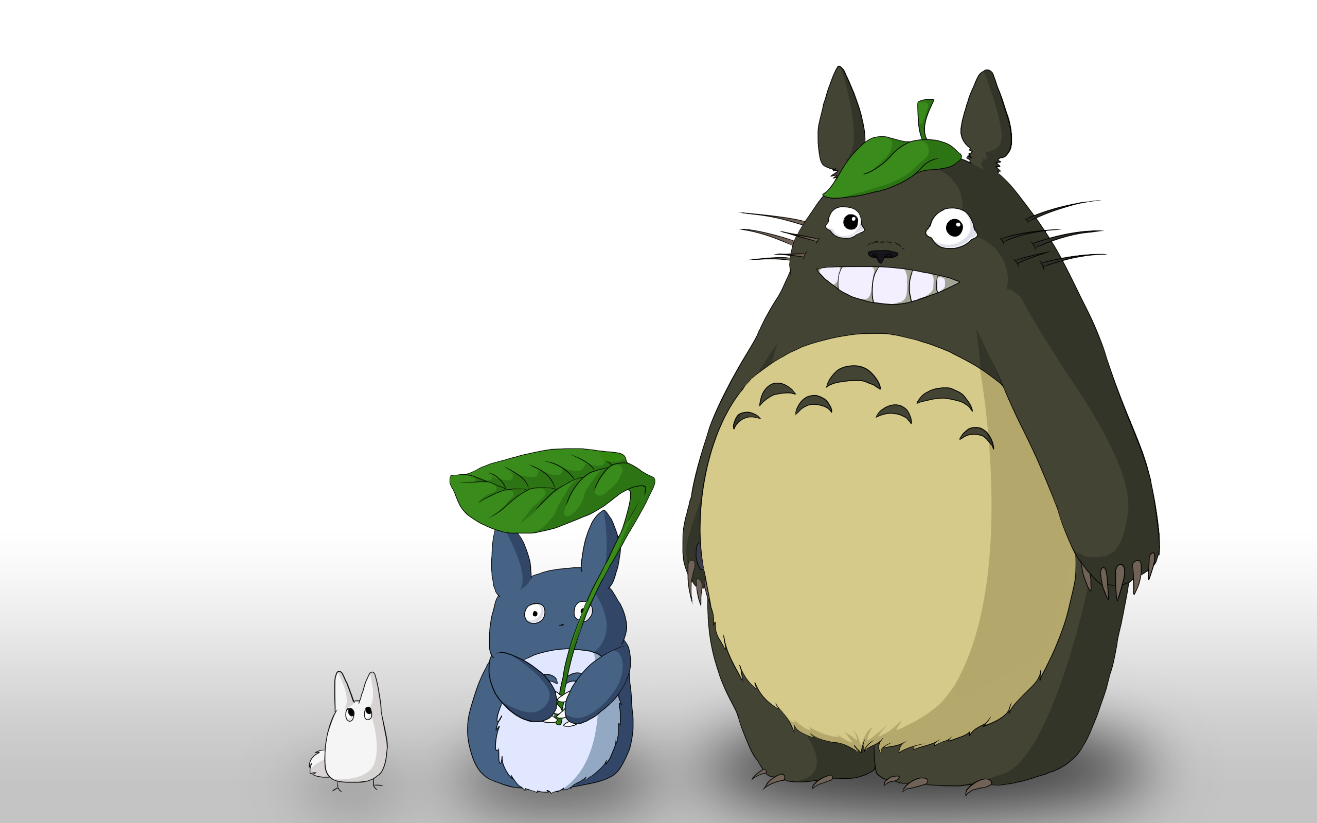 totoro simple background Anime HD Wallpaper
