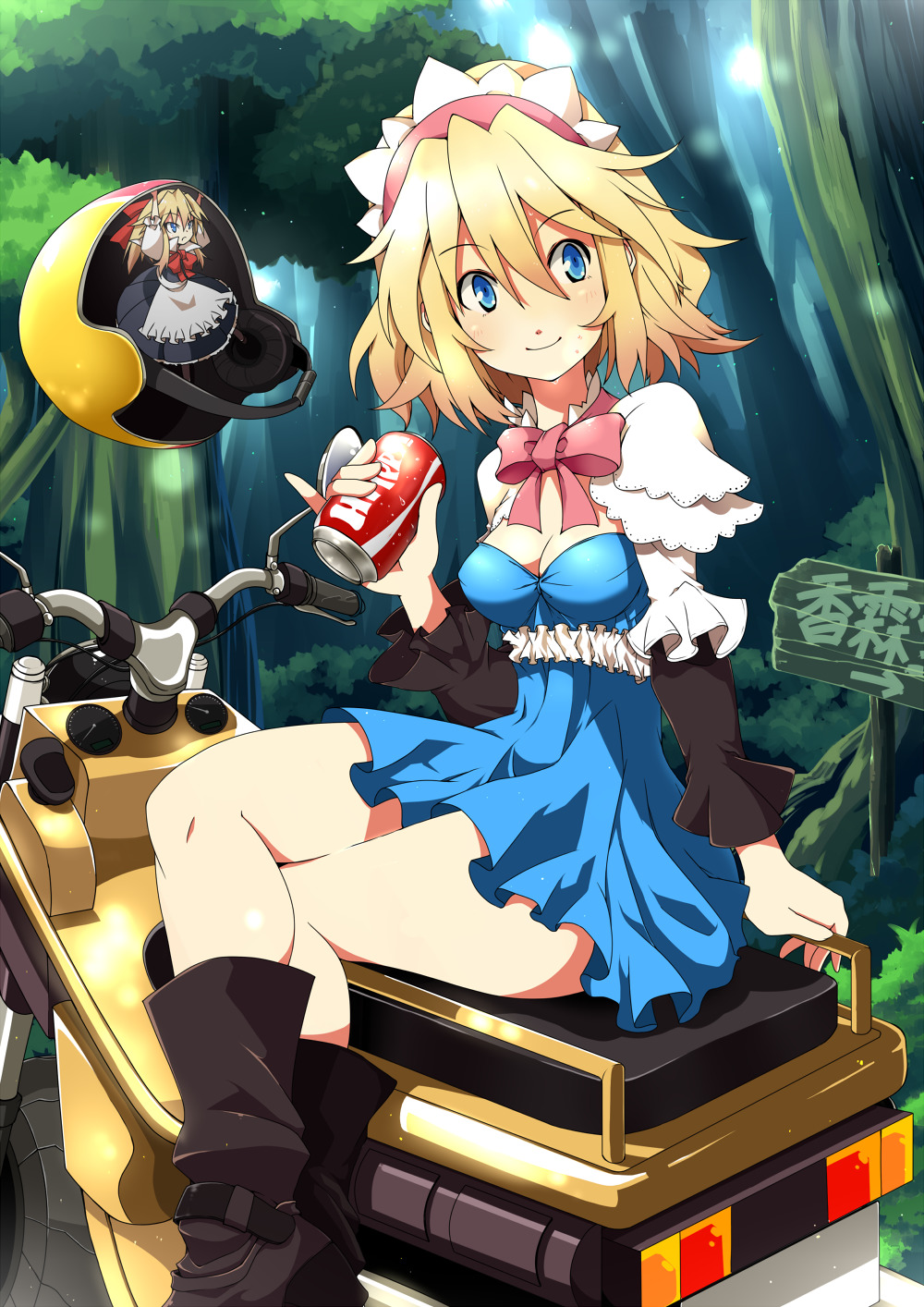 touhou Alice margatroid Anime HD Wallpaper