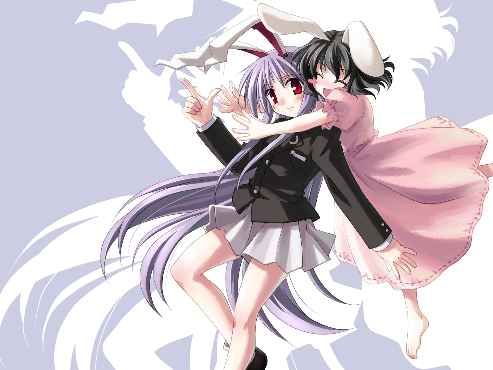 touhou animal ears reisen HD Wallpaper