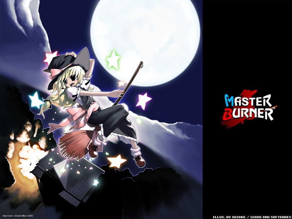 touhou kirisame marisa witches HD Wallpaper